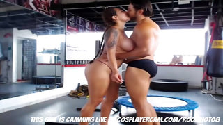 Getting Freaky In The Gym....