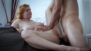 Young guy sneaks to fuck his uncle's wife