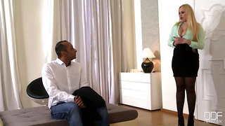 Angel Wicky - Busty Therapist Welli Angel Takes Cock In Ass