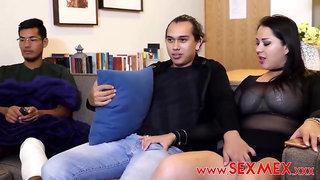 El Amigo De Mi Hijo: Sexy Mexican MILF seducing her sons friend