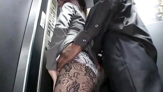 Asian Business Lady And A Big Black Cock