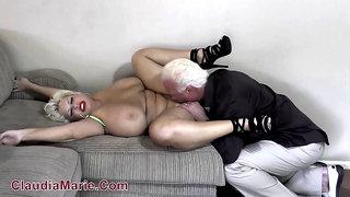 Grandma Claudia Marie - Big Tit Porn Review