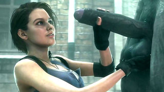 Resident Evil - Hot Jill Valentine - Part 9