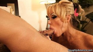 Houston is a fine as fuck and slutty cougar who loves young dicks