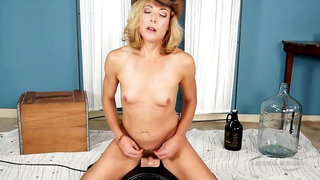 Charli Shay cowgirl ride on sybian