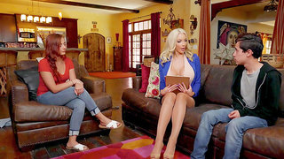 Young buck give Nicolette Shea everything she was craving
