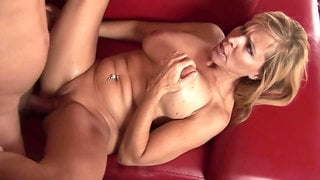 Blonde Mature With Big Boobs Fucked