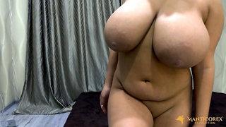 Boobscarol - Massive Boobs Oil Fetish