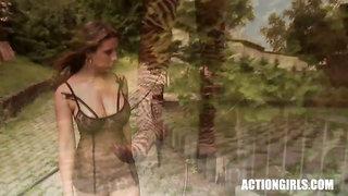 Erica Campbell Strip Oil