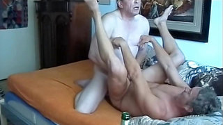 Daddy & grandpa suck each other - Grandpa fucks