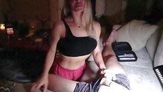 Hot Lonely Milf Fuck Her Stepson When Dad is not Home