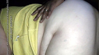 BBW Ass Fucked in the Porn Theater