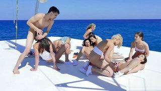 Bruce Venture - yacht orgy HD