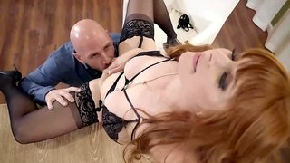 Penny Pax lures her cheating hubby to fuck her pussy & fed her cum