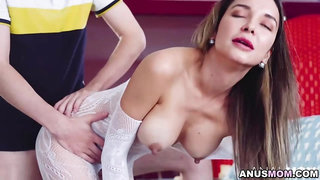 Hot fuck fest with hot stepmom Francys Belle