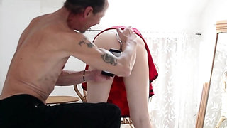 Hot Upskirt Girl Gets Fucked Hard From Behind