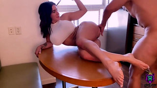 Wow wow wow... your suck my cock and show the big ass