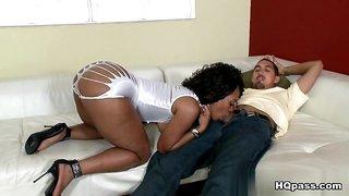 Amazing pornstars Juan Largo, Miyamme Spice in Incredible Black and Ebony, Interracial porn movie