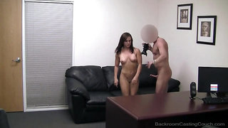 Fit amateur creampied in a doggystyle fuck