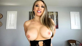 Mom Kagney Linn Karter - JOI solo with toy