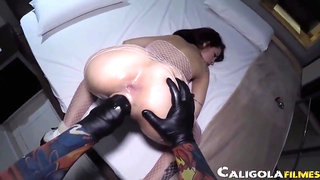 Kinky young nymph rough fisting porn