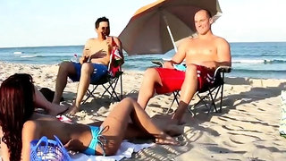 Teen vagina fisting Beach Bait And Switch