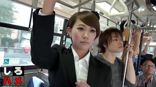 Japanese Bus Gangbang