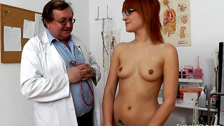 Redhead With Glasses Needs Doctor's Help - Gina Pearl