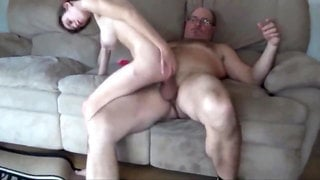 Daddy with MONSTER COCK