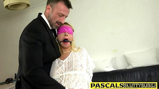 Submissive whore railed hard