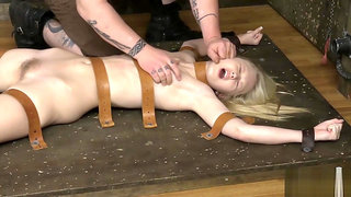 Dirty Anal Wam Fetish Costumed Enema Blonde Toying Her Ass