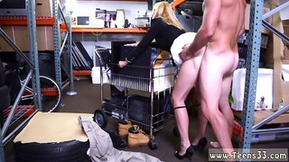 Split tongue blowjob Hot Milf Banged At The PawnSHop