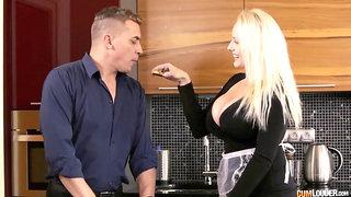 Buxom Lady On Male Pole - Angel Wicky Sex Clip