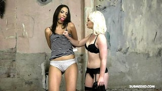 Dominant Lovita vs submissive Miky Love