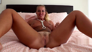 Exotic sex video Blonde great only for you