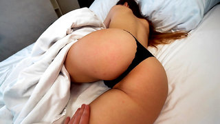 Waking Her Up With A Big Surprise - 4K POV