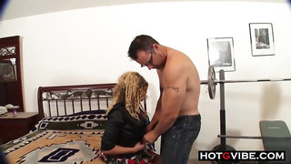 curly haired mother is a big dick freak