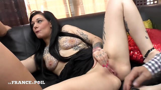 La France A Poil - Two Naughty Young Sluts Came To Papy