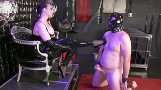 Great mindfuck ruined orgasm mistress cbt