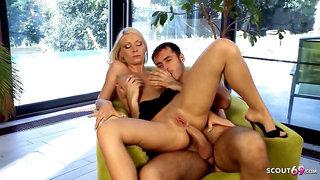 Huge Cock Anal Sex for Hot Big Tits MILF Helena Sweet