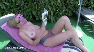 Gorgeous Owner Blond With Big Natural Tits