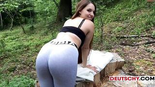 German teenage woods - private porn