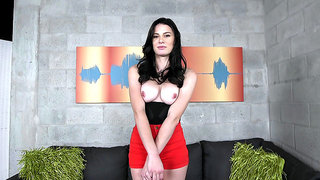 Kymberlee Anne showed her natural tits as the password to get into the fiesta