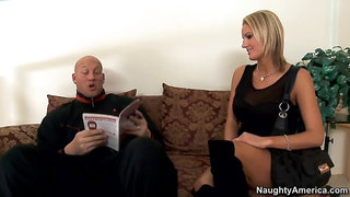 naughty america - hot blonde zoe holiday hot fucking in the living room