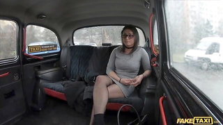 Glasses Babe Cheats on Hubby