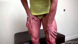 Ashlee Chambers is proud of her big clit