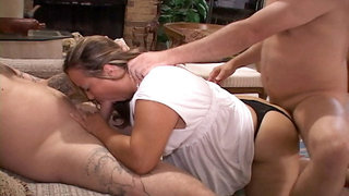BBW Mom Got Butt Fucked And Double Penetrated