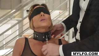 Mike and his dominating cock punishes Ana and Aubreys rich pussy