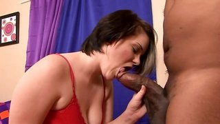 College coed gets some big black cock in her white pussy