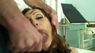 BANG.com - Cynthia Vellons fucks her gynecologist and swallows his cum